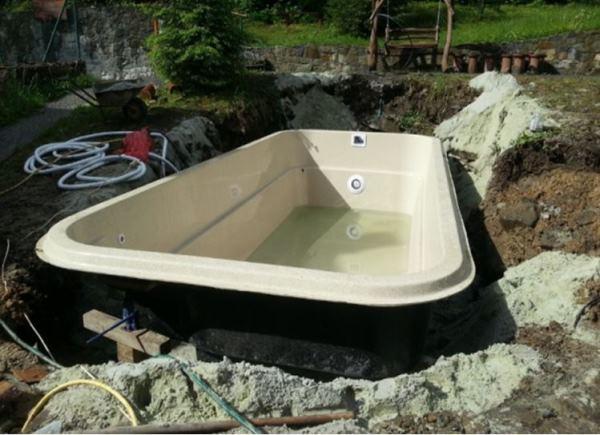 бассейн на даче фото 6