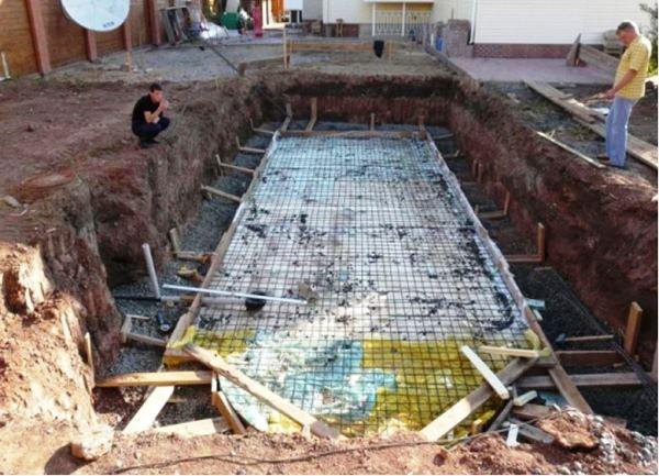 бассейн на даче фото 9