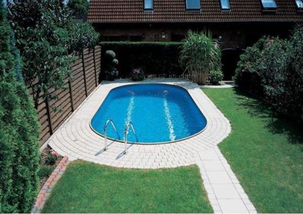 бассейн на даче своими руками пошагово фото