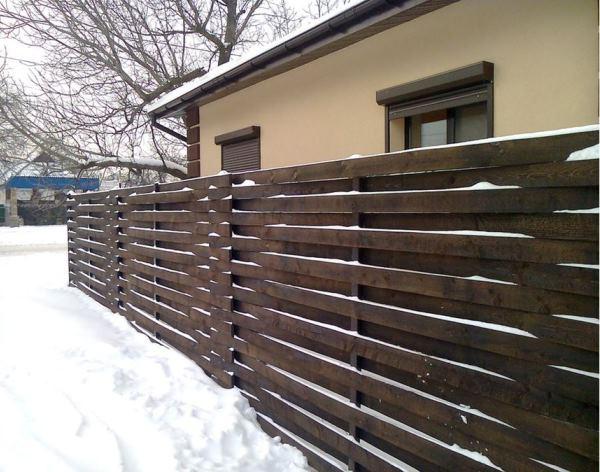плетень на даче фото 8
