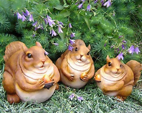 Садовые скульптуры фото 15