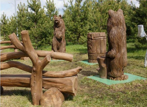 Садовые скульптуры фото 3