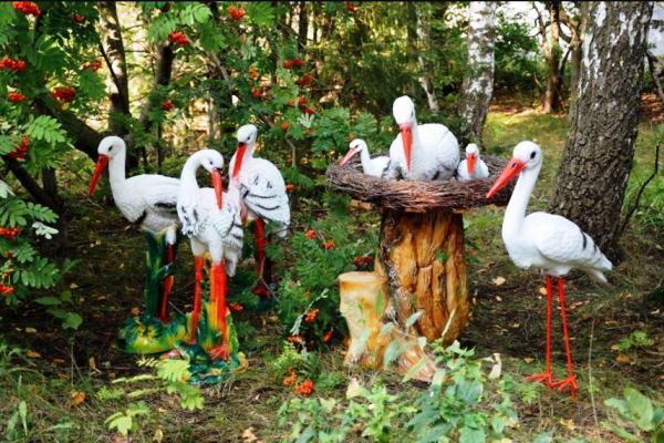 Садовые фигурки своими руками фото