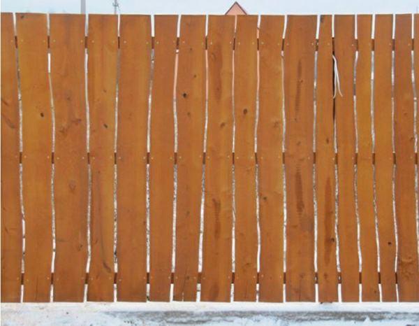 забор из горбыля фото 4