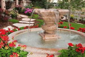 фонтан на даче фото 15
