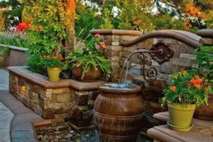 фонтан на даче фото 36