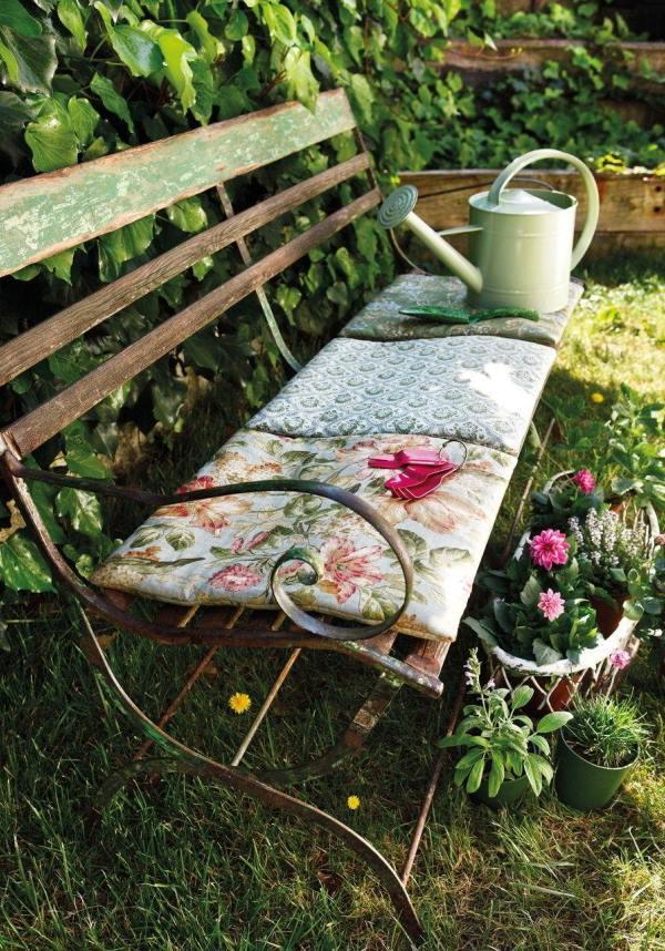 кованые скамейки фото 5