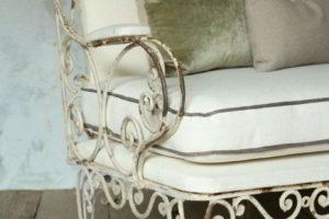 скамейки кованые фото 15