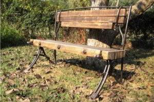 скамейки кованые фото 19
