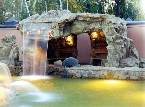Водопад на участке своими руками фото 15