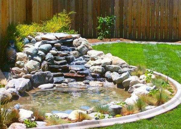 водопад на даче фото 4