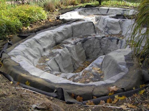 водопад на даче фото 6
