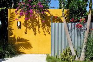 забор из профнастила фото 22