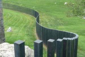 забор из штакетника фото 10