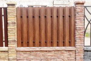 забор из штакетника фото 2