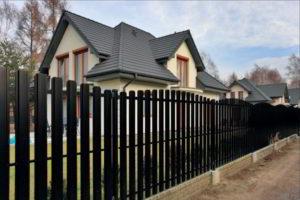 забор из штакетника фото 25
